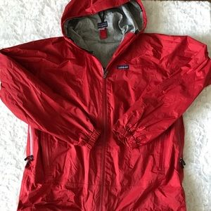 Men's Patagonia Rain Shadow Large Red